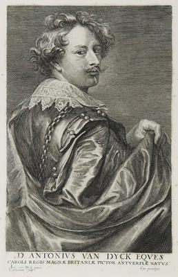 D. Antonius Van Dyck Eques (after Anton van Dyck 1599-1641)