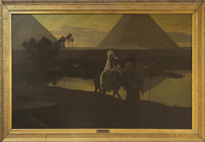 Frederick Goodall; The Flight into Egypt; 1884; 1922/3/1