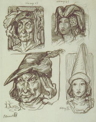 Untitled (Henry VI, Henry VI, Edward IV, Henry IV)