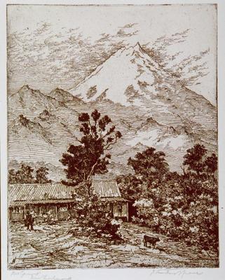 Mt. Egmont, New Zealand