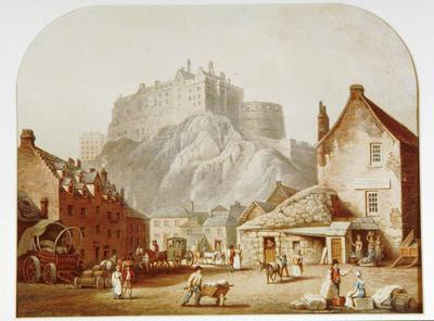 Scene in Edinburgh