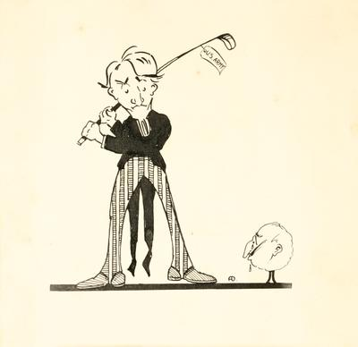Untitled (American Golfer)