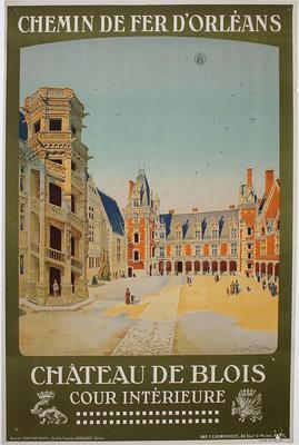 Chateau de Blois - cour interieure