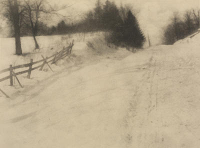 Albert Schaaf; Snow and Shadows; 1907; 1925/2/52
