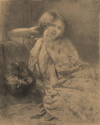 Robert Demachy; Figure Study; 1911-1914; 1925/2/56