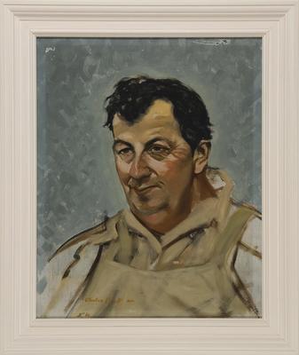 Untitled (portrait of Mr George Croton)