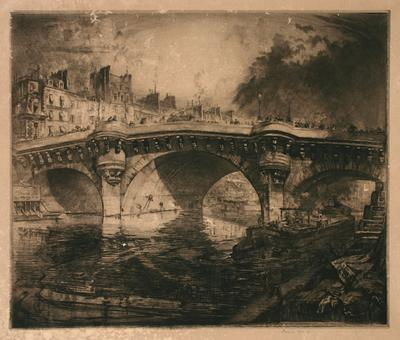 Untitled (city bridge)