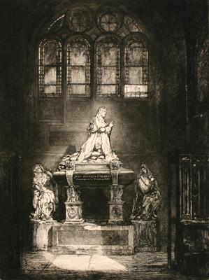 Untitled (tomb of Jean Baptiste Colbert)