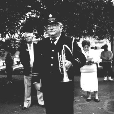 Anzac Day Service, Moutoa Gardens, Wanganui