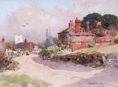 Wilfrid Ball; Sunny Afternoon, an Essex Village; 1912; 1926/2/14