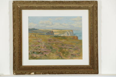 H I Babbage; Coast of Normandy; 1908; 1997/17/1