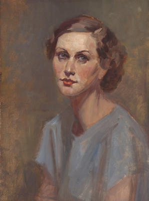 Charles Hay-Campbell; Portrait of Linley Lewis; Circa 1927; 1993/13/1