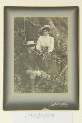 Untitled (portrait of F.J. Denton and his wife?)