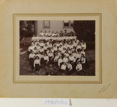 Wanganui Girls College school photograph
