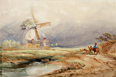 John Cotman; Windmill; Unknown; 1926/2/23