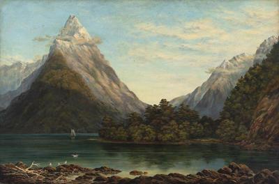 Charles Decimus Barraud; Mitre Peak; Post 1800; 1926/2/26