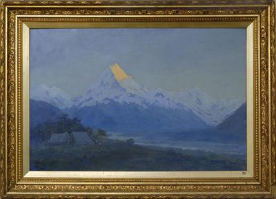 William Francis Barraud; Dawn on Aorangi; Circa 1870-1926; 1926/2/39