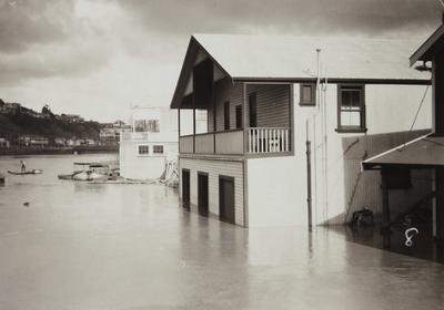 Untitled (flood scene - house to right)