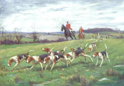 Untitled (Hunting Scene)