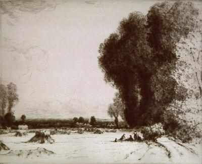 John Fullwood; Harvest, Chertsey Vale; Unknown; 1926/4/1