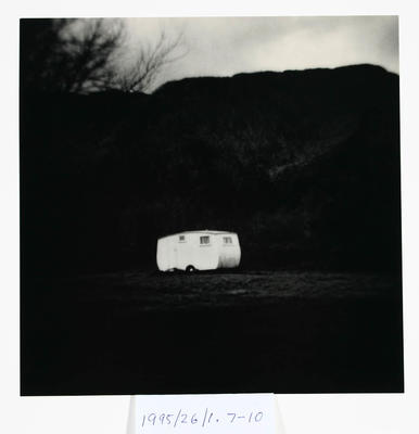 Peter Peryer; Untitled. From the Portfolio, 'Gone Home'; 1975; 1995/26/1.7