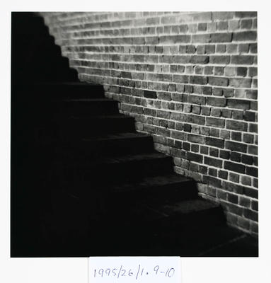 Peter Peryer; Untitled. From the Portfolio, 'Gone Home'; 1975; 1995/26/1.9