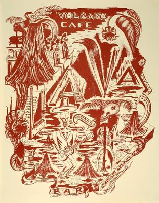 Bill Hammond; Volcano Cafe; 1994; 2002/6/4