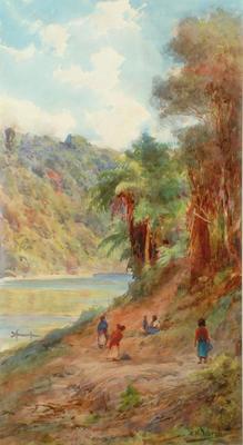 Whanganui River near the Houseboat