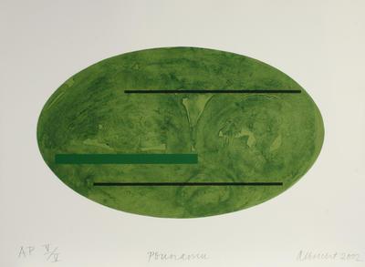 Gretchen Albrecht; Pounamu; 2002; 2004/6/5