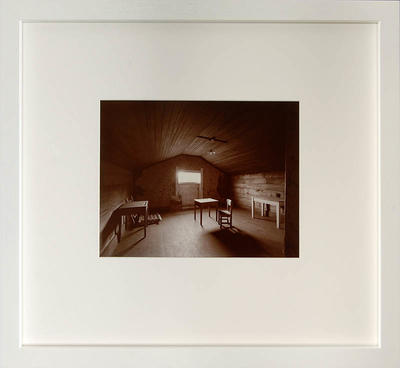 Andrew Ross; Ronald Hugh Morrieson's attic, Hawera 27/4/2009; 2009; 2012/5/2