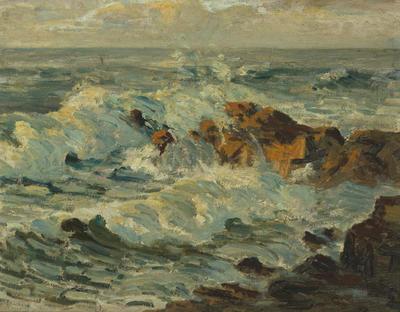 Coast of St Ives, Cornwall, 1907