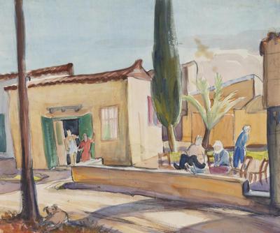 Untitled, Outdoor street scene
