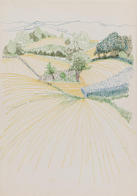 Untitled (Rural landscape)