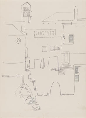 Untitled (Stylized buildings)