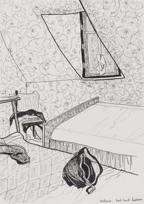 Untitled (Bedroom interior)