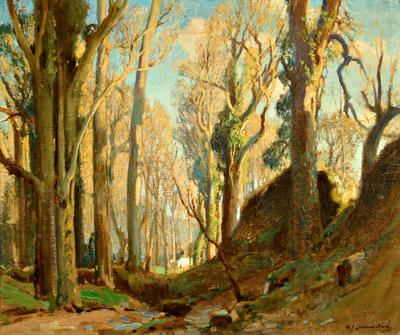 In the Woods, Lamorna