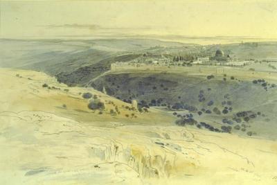 Edward Lear; Jerusalem 1858; 1858; 1930/2/1