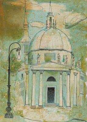 Untitled, (Roman Architecture)