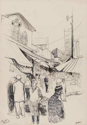 Untitled, (market)