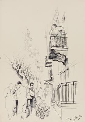 Untitled, (Turkish Quarter, Beirut)