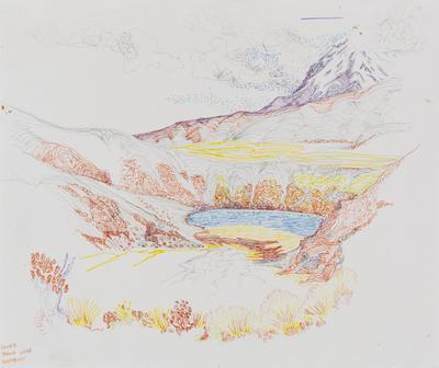 Untitled (Lower Tama Lake, Ruapehu)
