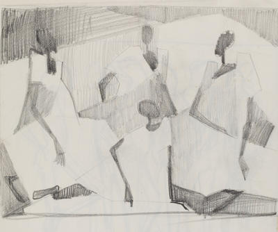 Joan Grehan; Untitled, (four figures); 2014/1/305