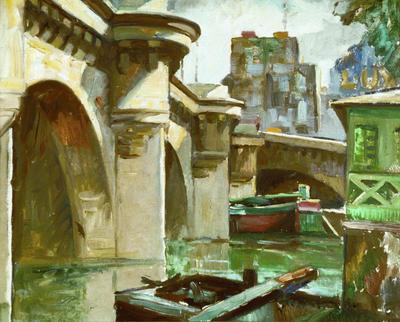 John Weeks; Le Pont Neuf, Paris; Pre 1932; 1931/3/2