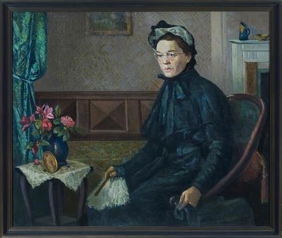 Untitled (Portrait of Frances Ellis?)