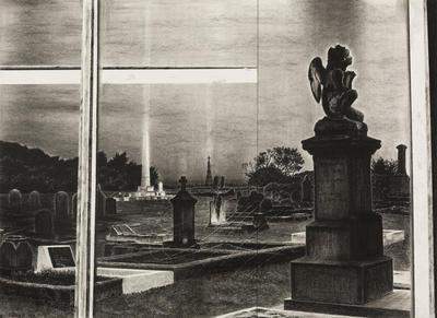 The Scored Window (Hokitika Cemetery)