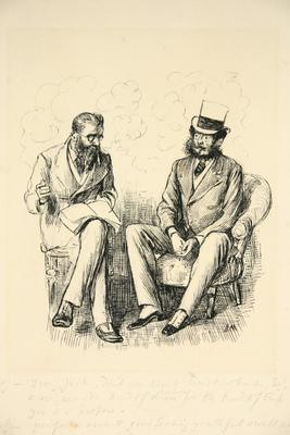 Drawing for Punch 1873