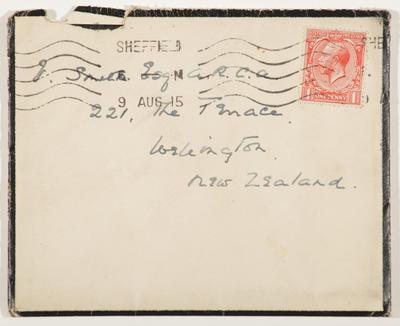 Amy Smith; [Letter, Amy Smith to Vivian Smith]; 09 Aug 1915; A2015/4/42