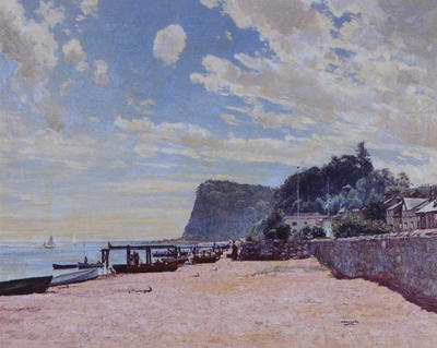William Wells; Summertime on the South Coast, Shaldon, Devon; Circa 1900; 1935/4/1