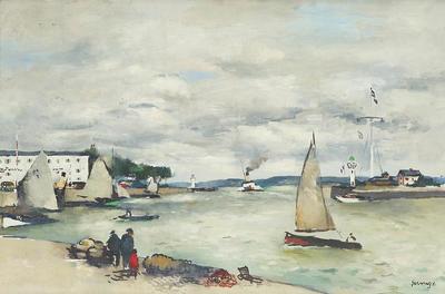 Entree de Port Honfleur