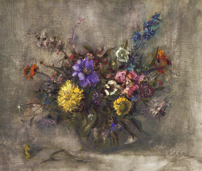 Emily Paterson; A July Bouquet; Pre 1935; 1936/4/1